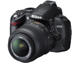 Фотоаппарат зеркальный Nikon D3000 KIT 18-55 VR