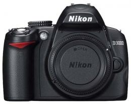 Фотоаппарат зеркальный Nikon D3000 Body