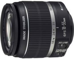 Объектив Canon EF-S 18-55mm f/3.5-5.6 IS