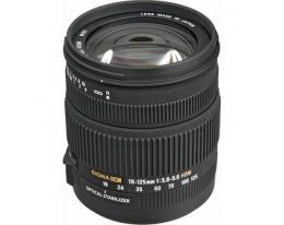 Объектив Sigma 18-125mm f/3,8-5,6 DC OS HSM