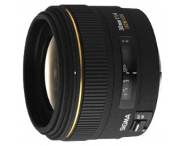 Объектив SIGMA 30 mm f1,4 EX DG for Sony + Sigma 62mm MC UV DG