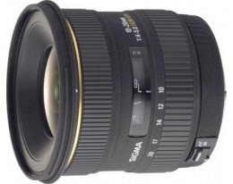 Объектив Sigma 10-20mm/4-5.6 EX DC HSM Canon