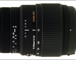 Объектив SIGMA 70-300 mm f4-5,6 DG Macro for Nikon NEW!!!  With MOTOR